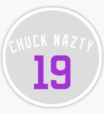 "Charlie Blackmon ""Chuck Nazty"" Players Weekend Sticker"