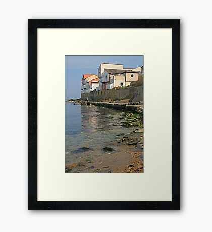Sea View, Swanage Framed Print