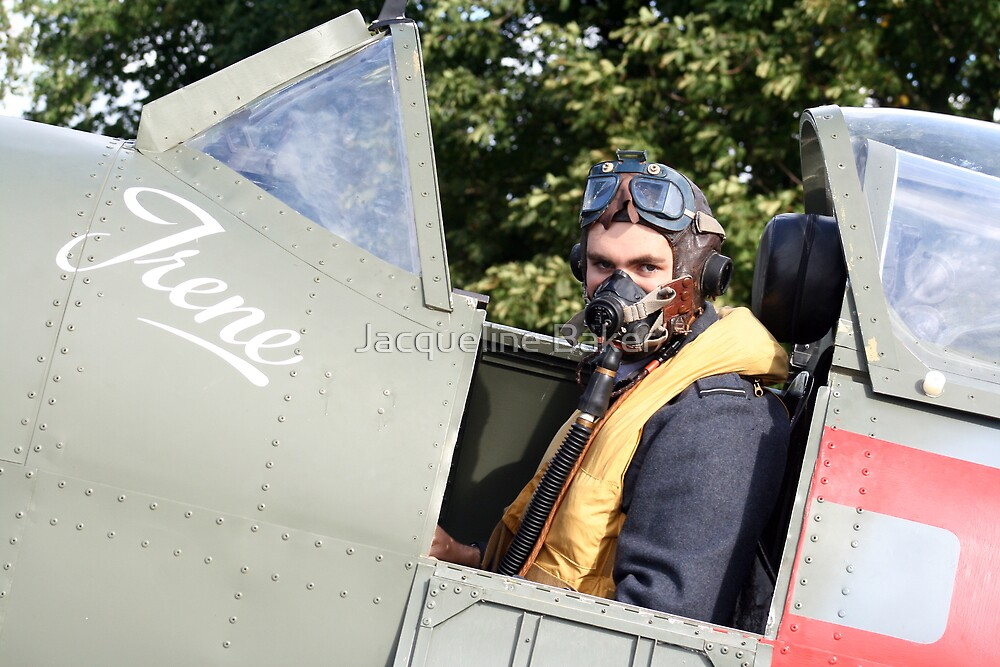 Tribute to the 1940's RAF #2 by Jacqueline Baker