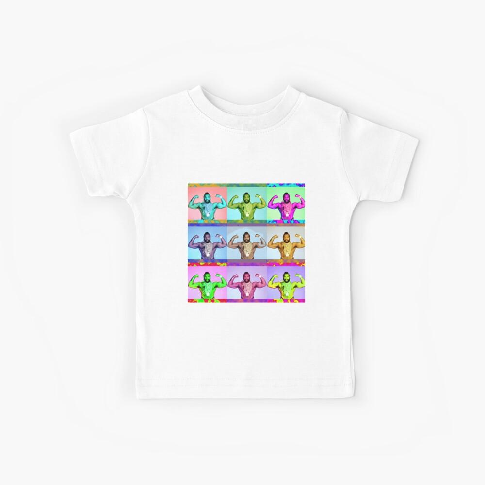 Herr T. Collage Kinder T-Shirt