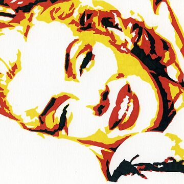 Marilyn Colored Marker Sketch by MJToomy