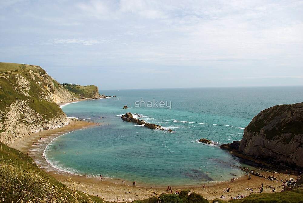 Lulworth Cove by shakey