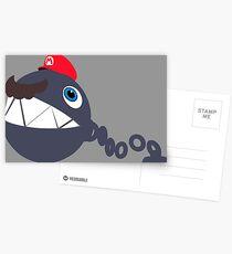 Chain Chomp - Super Mario Odyssey  Postcards