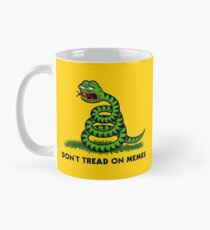 Don't Tread on Memes -Triggered Pepe- Mug