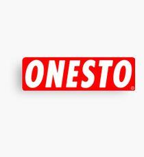 ONESTO Canvas Print