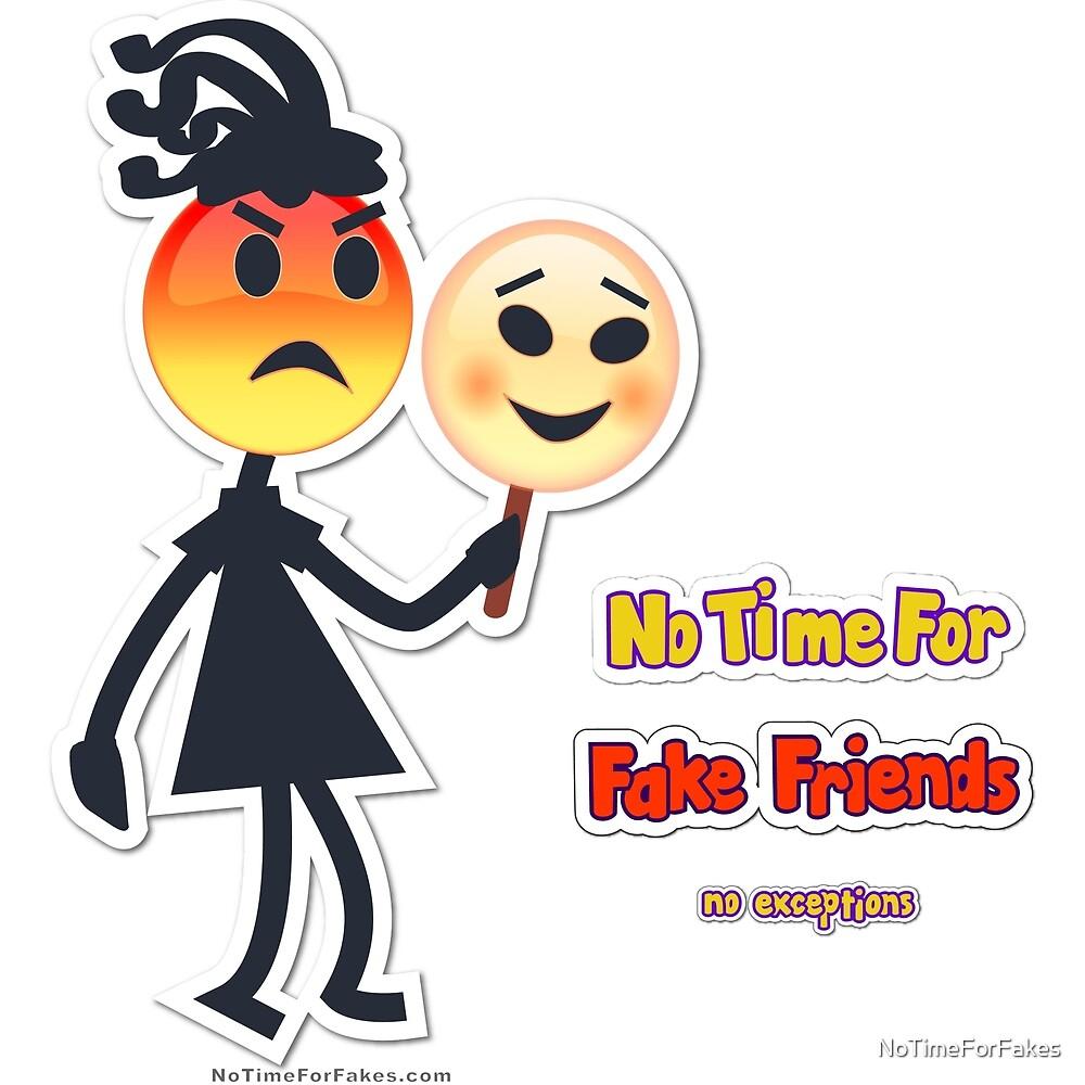 Fake Friend Emoji Girl by NoTimeForFakes