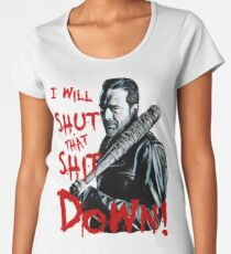 Negan Women's Premium T-Shirt