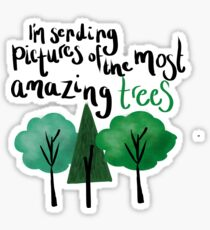 Dear Evan Hansen Amazing Trees Sticker