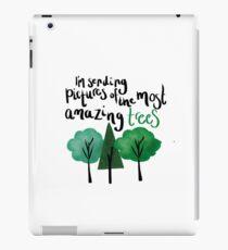 Dear Evan Hansen Amazing Trees iPad Case/Skin
