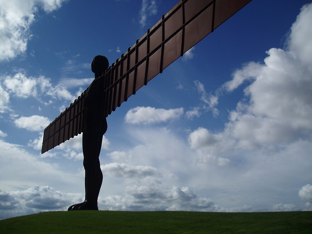 Angel of the north 2 by David Devine