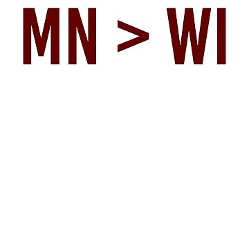 FIX MN > WI Minnesota over Wisconsin by classydesignz