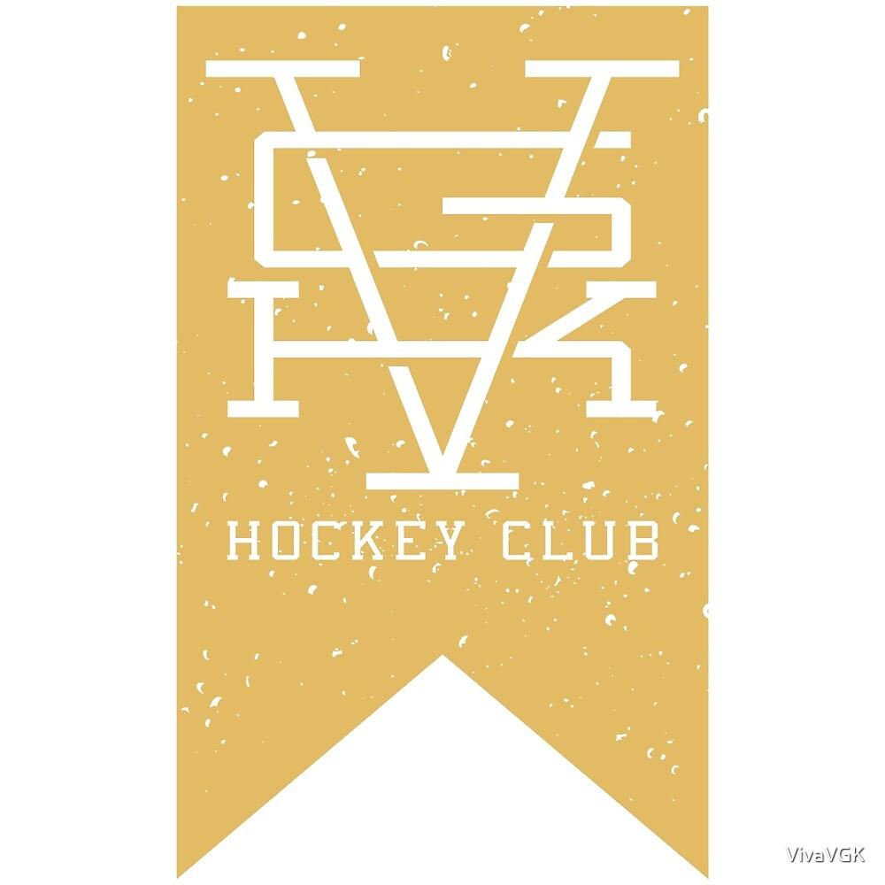 Vegas Golden Knights VGK Hockey Club Banner Shirt by VivaVGK
