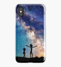 Rick and Morty Galaxy iPhone Case/Skin