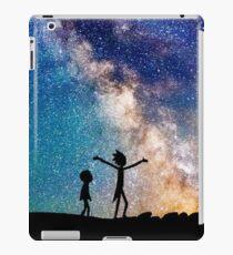 Rick and Morty Galaxy iPad Case/Skin
