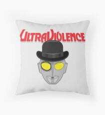 Ultra Violence Throw Pillow