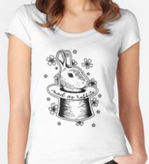 Panic! at the Disco - Mad as Rabbits Women's Fitted Scoop T-Shirt