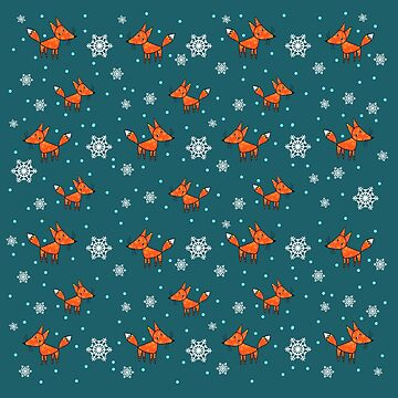 Fox & Christmas by anushka777