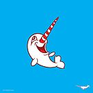 Excited Narwhal design by Peppermint Narwhal by PepomintNarwhal