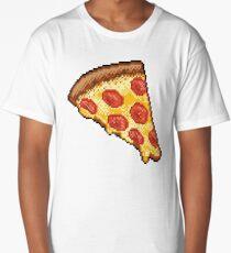 Pixel Pizza Long T-Shirt