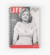 Marilyn Monroe LIFE Cover Spiral Notebook