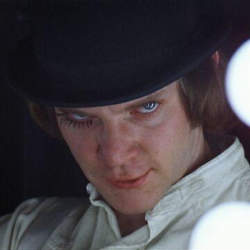 Malcolm McDowell - Alex (A Clockwork Orange) by alexklp