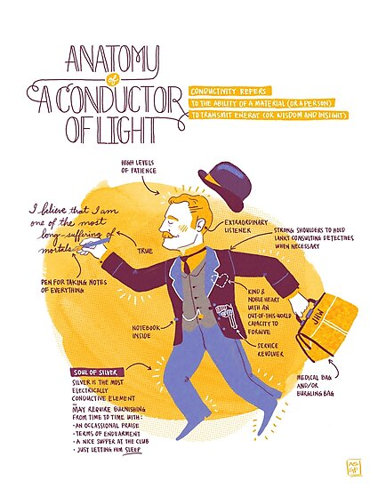 Anatomy of a Conductor of Light by gb-crumbs