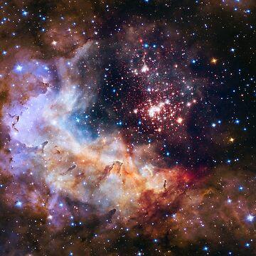 Deep Space Nebula Galaxy by alexklp