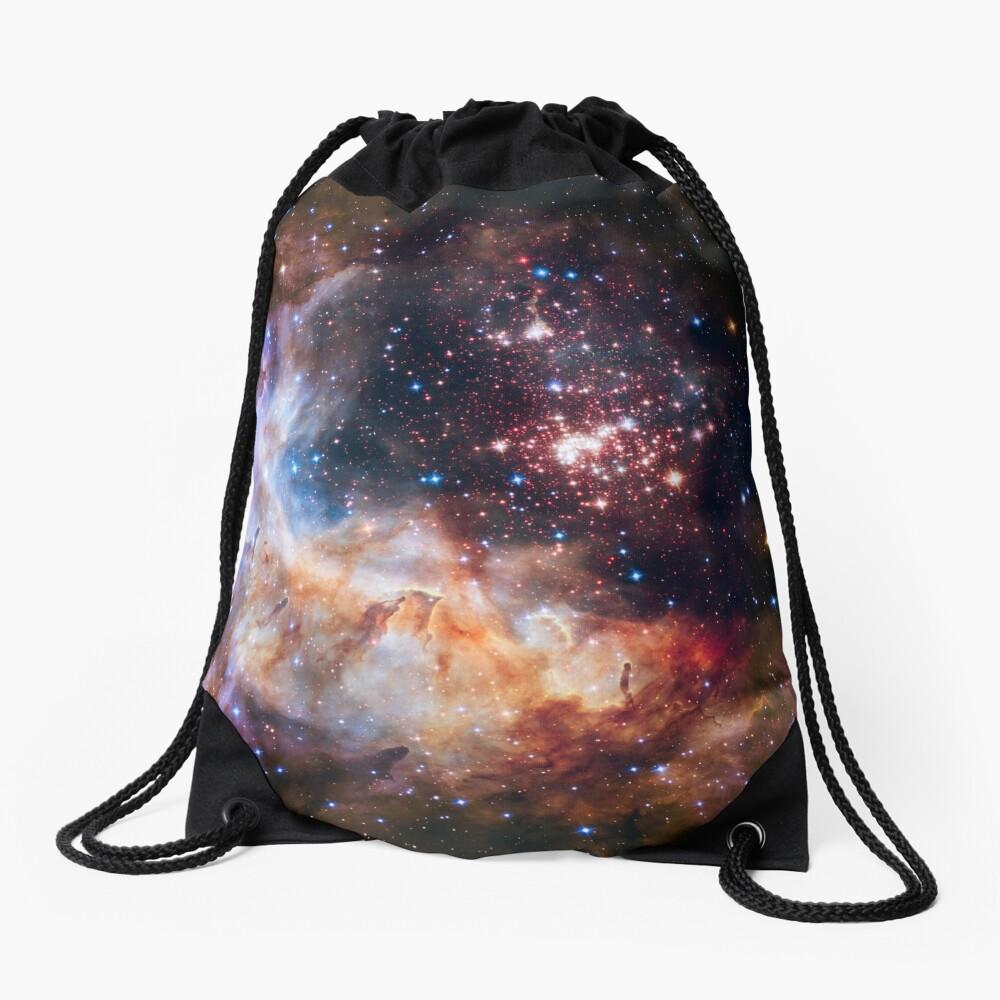 Weltraum-Nebel-Galaxie Turnbeutel