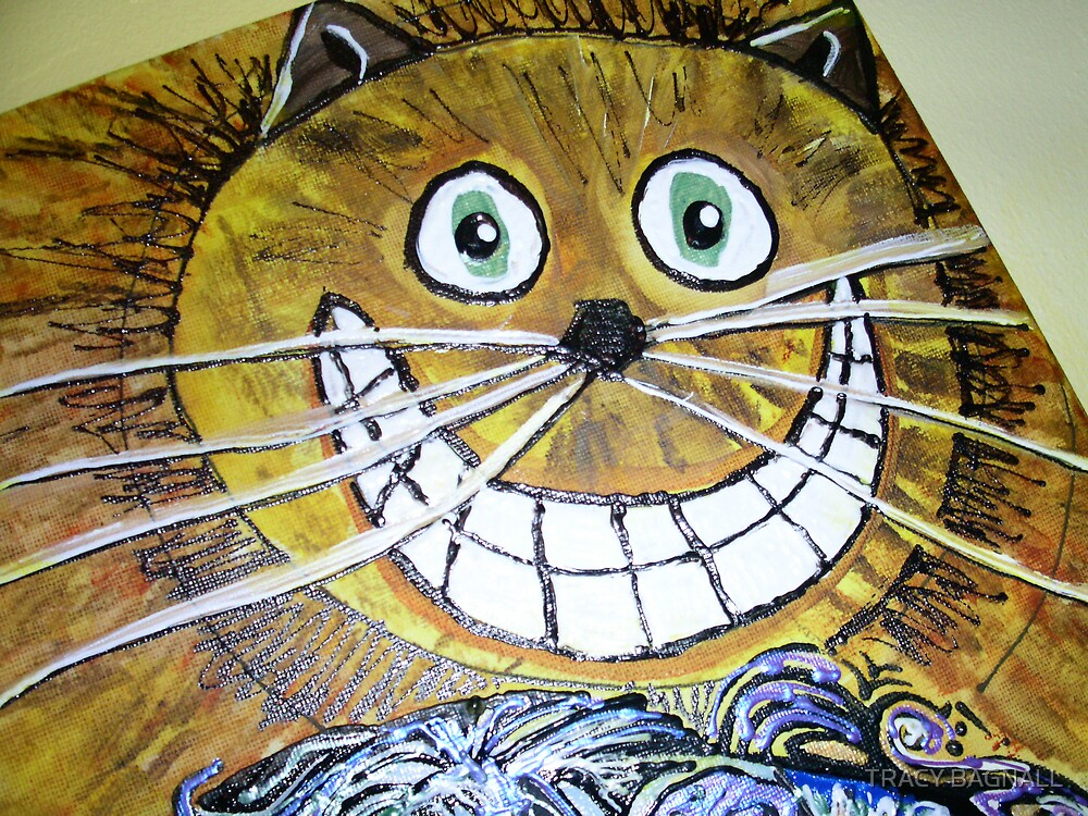 cheshire cat by TRACY BAGNALL