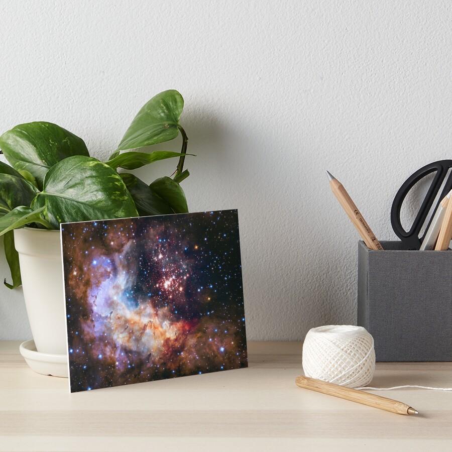 Weltraum-Nebel-Galaxie Galeriedruck