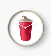 Wendy's Frosty Clock