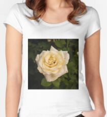 Yellow Rose Women's Fitted Scoop T-Shirt
