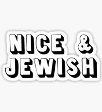 Nice Jewish Sticker