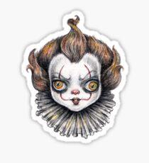 Hangry Bebe Clown Sticker