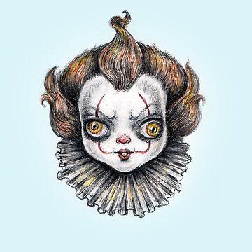 Hangry Bebe Clown by brettisagirl
