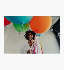 Daveed Diggs Balloons Photographic Print