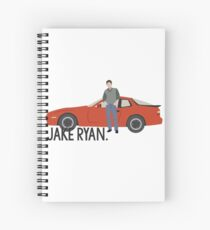 Sixteen Candles - Jake Ryan Spiral Notebook