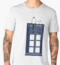 Snoopy / Dr. Who Men's Premium T-Shirt