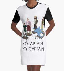 Robin Williams Tribute Graphic T-Shirt Dress