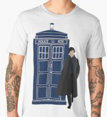 Dr. Who / Sherlock Men's Premium T-Shirt