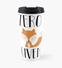 """Zero """"Fox"""" dado Taza de viaje"""