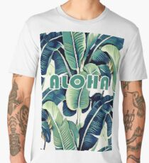 Banana Leaves Men's Premium T-Shirt