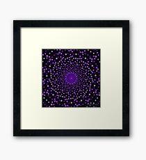 Purple Chakra Framed Print