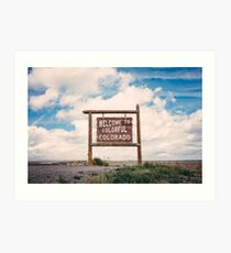 Welcome to Colorful Colorado Art Print