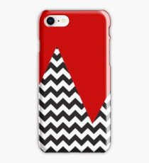 Chevron Mountains ;;;;;) iPhone Case/Skin