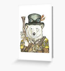 Polar Bear Warden Greeting Card