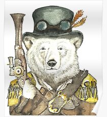 Polar Bear Warden Poster