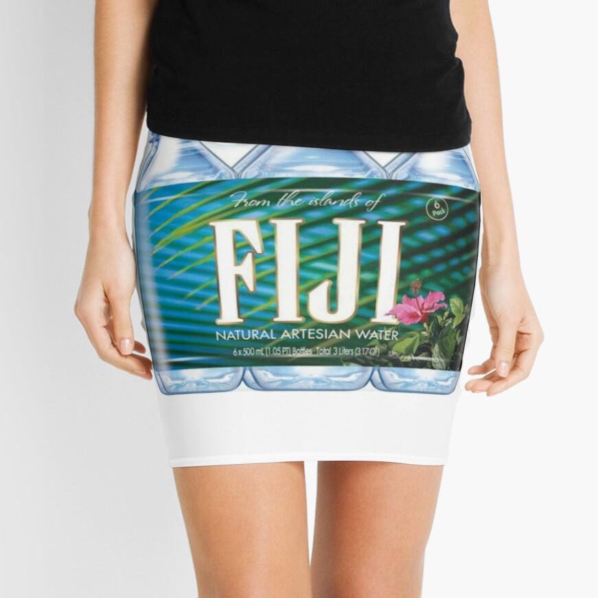 Fiji Water Sixpack Mini Skirt