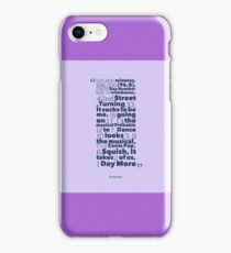 How to Count in Theatre iPhone Case/Skin