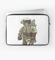 Space Cat with Saxophone Laptop Sleeve